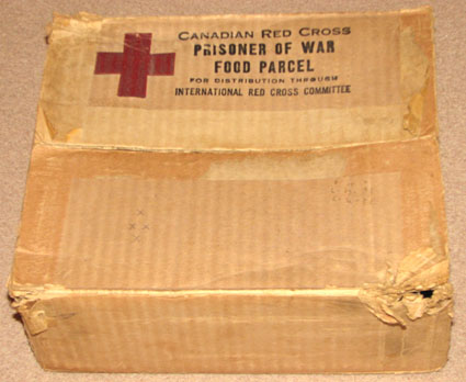 Food parcel from the SS Vega.