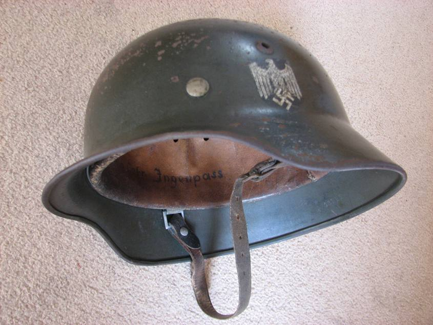 M35 Single Decal Heer Helmet