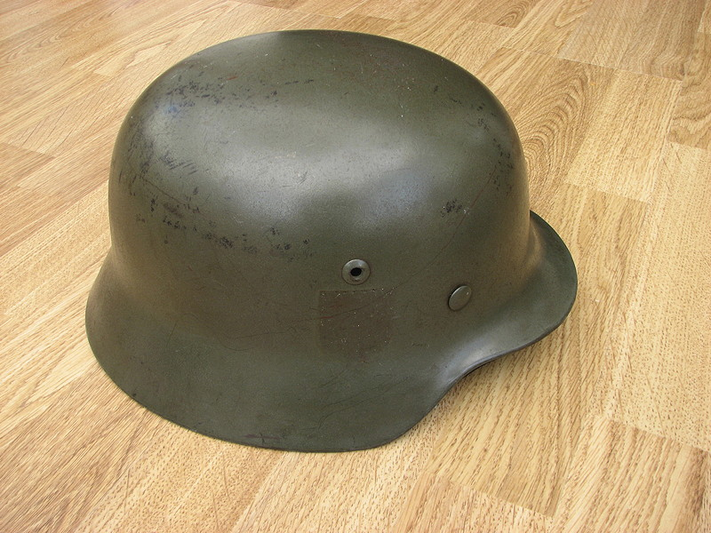 My collection of German Helmets from World War Two