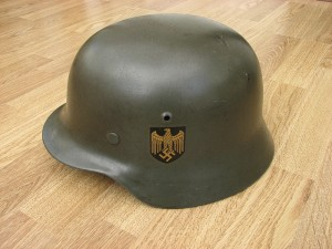 M35 Double Decal Kriegsmarine Helmet (Navy)
