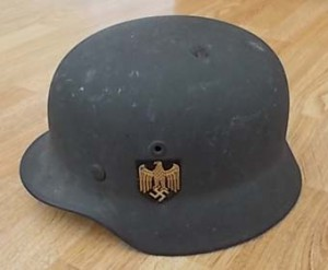M40 Single Decal Helmet Heer (Army)
