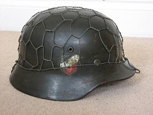 M35 Double Decal Half Basket Chicken Wire Helmet Heer (Army)